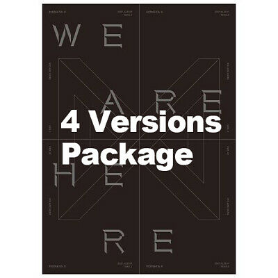 Take.2 WE ARE HERE by MONSTA X The 2nd Album [Ver. I+II+III+IV - 4 items]