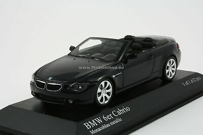 Bmw 6-Series Cabriolet (E64) - 2006 - Dark Blue Metallic