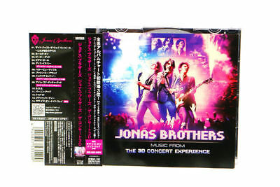 JONAS BROTHERS - Music From The 3-D Concert Experience CTCW-5 JAPAN CD OBI A1061