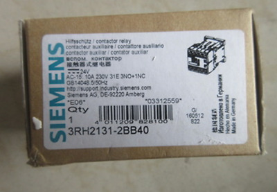1PC NEW For Siemens Contactor 3RH2131-2BB40 #019
