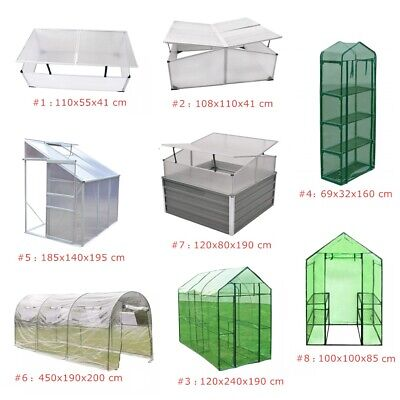 Outdoor Cold Frame/Greenhouse Portable Garden Patio Plant Flower Grow House Tent