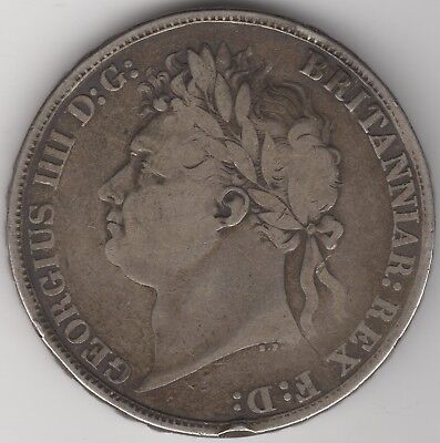 1822 Tertio George IV Silver Crown | British Coins | Pennies2Pounds