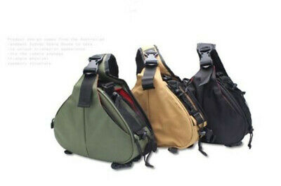 Triangle Camera Bag Shoulder Case Pouch For Nikon Canon Sony Waterproof DSLR