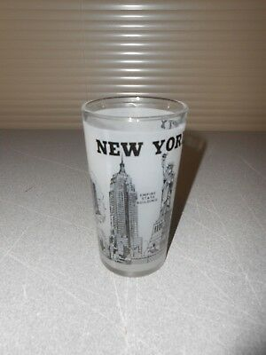 New York Subway Map Drinking Glass 16oz.Glass New York City Twin Towers Collectors Paper Weight 17 54