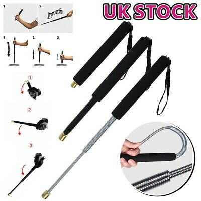 """Self Protect Retractable Stick Gifts Protector Outdoor Tool Telescopic 18"""""""