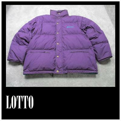 f0a291c8e20 Lotto Mens Down Zipped Jacket Full Reversable Hooded Size 48