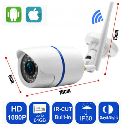 IP Camera 1080P Wifi Indoor Security Wireless CCTV wifi bullet IR Camera Yoosee