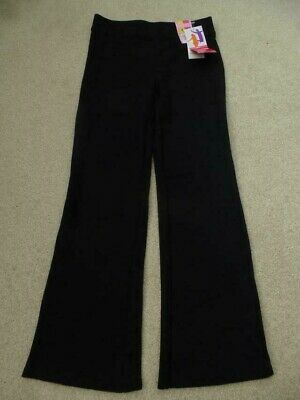 NEW  M&S BLACK Trousers 8-9yrs BNWT Jogging Yoga Sports School Marks & Spencer