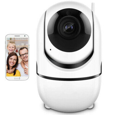1080P IP Camera Security Surveillance Auto Tracking Baby Monitor Cloud Storage