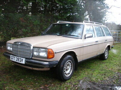 1983 Mercedes 230 TE W123 Estate Automatic * Selling as Spares or Repair *