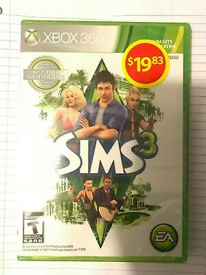 The Sims 3 (Microsoft Xbox 360, 2010) - Authentic game French / English