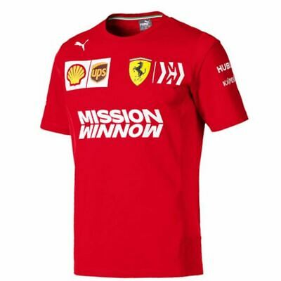 Scuderia Ferrari Men's Puma Team T-Shirt | 2019