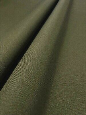 Olive Green Heavy Duty 600 D Polyester Waterproof Outdoor Fabric