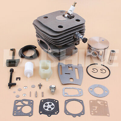 54mm Cylinder Piston Carb Kit For Husqvarna 288XP 181 281 288 Chainsaw 503506301