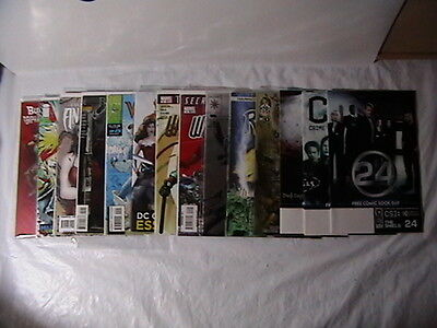 Comic Book Collection 14 Different Marvel,Dc,Valiant & Others