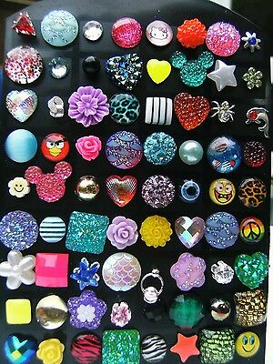 50 x PAIRS STUD EARRINGS, JOB LOT, FUNDRAISING, STALL, PARTY, GIFT GIRL'S LADIES