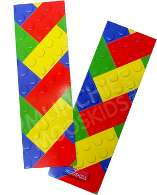 Brick Block Bookmarks - Book Reading School Party Bag Fillers Pack Size 6 - 48