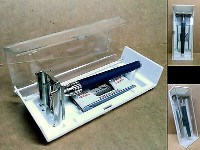 "1 VINTAGE ('60s-'70s) SAFETY RAZOR - GILLETTE ""KNACK"" TTO - *UNUSED!**NOS**MINT*"