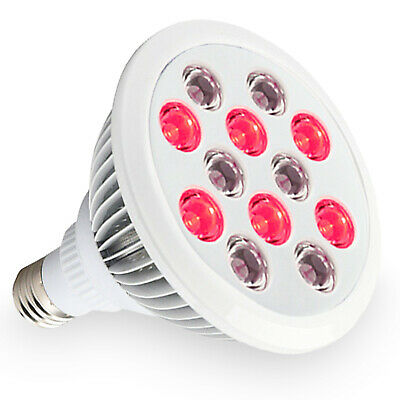 Red and Near Infrared LED Light Therapy Bulb 660nm 850nm 24W Anti-aging and Pain