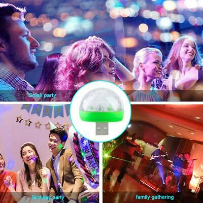 5V USB Mini LED Disco Stage Light Party Club DJ KTV Magic Lamp Ball  For Phone