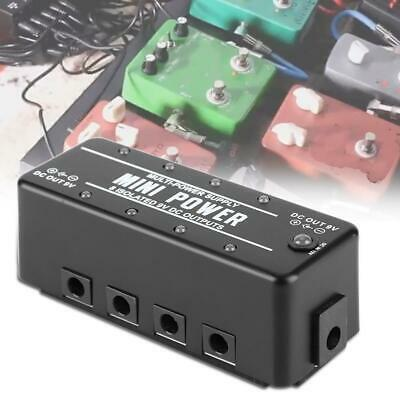 9V DC 300mA Guitar Pedal Board Effect Power Supply Isolated Output US Plug