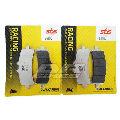 Ducati 1100 Panigale V4 2018 2019 SBS Dual Carbon Front Brake Pads 841DC