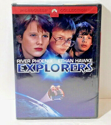 Explorers - DVD - 1985 - Ethan Hawke, River Phoenix - directed by Joe Dante New