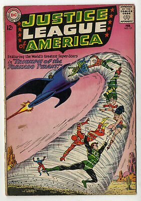 Justice League of America #17 (DC 1963 fn- 5.5) over 50% off price guide