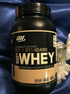 a477e9f39 Gold Standard 100% WHEY Protein Natural VANILLA 1.9lbs OPTIMUM NUTRITION