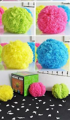 Automatic Rolling Ball Robotic Microfiber Mop Ball Four Color Covers