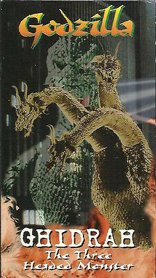Ghidrah the Three Headed Monster (VHS) Godzilla VS King Ghidrah EP Mode Version