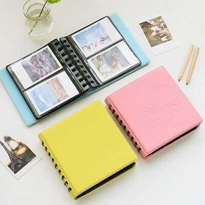 "68 Pockets Insert 3"" Photo Album for Polaroid Fujifilm Instax Mini 7s/25/8 Sweet"