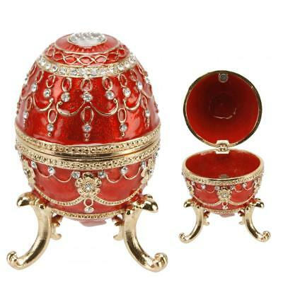 Juliana Treasured Trinkets - Large Red Egg