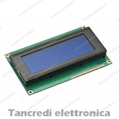 Display LCD 20x4 2004 con retroilluminazione blu blue arduino HD44780 modulo
