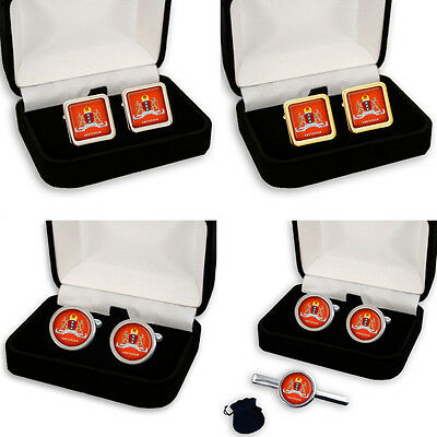 City Of Amsterdam Coat Of Arms Netherlands Men's Cufflinks Gift Engraving