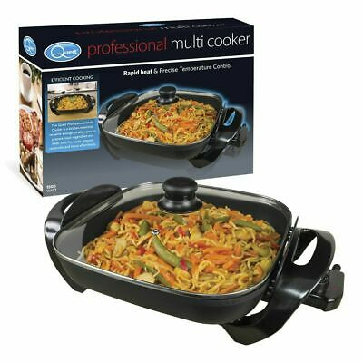 Quest 35800 Benross Square Shaped Family Non Stick Multi-Function Electric Cooke
