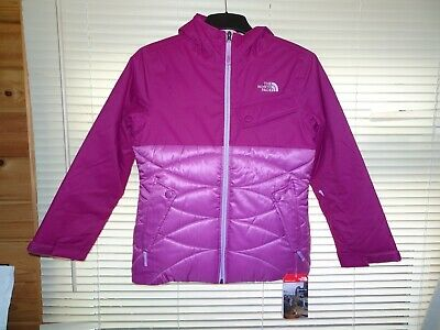Girls The Noth Face Bright Pink CARLY Insulated Coat *11-12yrs* BNWT RRP £120