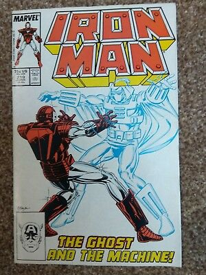 Iron man 219 - first appearance of villain The Ghost (from new Antman movie)