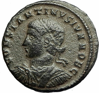 CONSTANTINE II Constantine the Great son 326AD Ancient Roman Coin GATE i77096