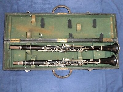 Clarinets in A & Bb ( wood ) : Buffet Crampon Paris France