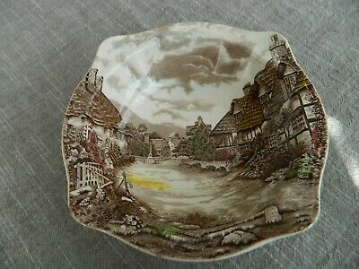 """Johnson Brothers China Olde English Countryside  8 1/2"""" Wide Serving Bowl   15-5"""
