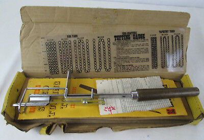 Vintage RC Rug Crafters Speed Tufting Tool Instructions Craft Fiber Art Hooking