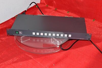 Kramer 10 X 1 vertical interval switcher VS-1011 rack mountable switch video