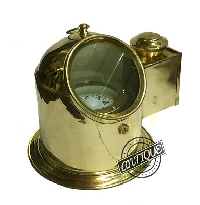 Valentine Ship's Compass Binnacle Gimballed Observation Table-Top Marine.