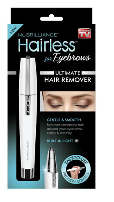Nubrilliance Hairless for Eyebrows Gentle and Smooth Hair remover As Seen on TV