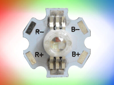 9W High Power LED RGB auf Starplatine (3 x 3W) (rot grün blau) Standard