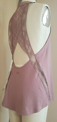 9774db467f Nwt Under Armour Misty Copeland Women's Sz Sm /ch Embroidery Active Wear Top