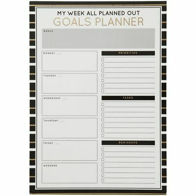 Otto A4 Dry Erase Weekly Business Goals Planner