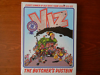 The Viz The Butcher's Dustbin Issues 122-131 A Dog's Dinner Of Old Tripe