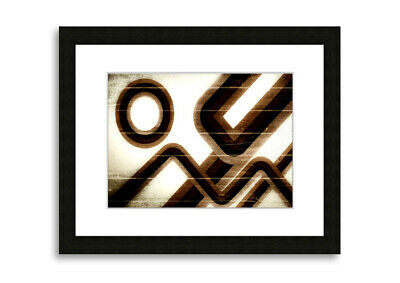 Old School  Abstract Prints 00382 Framed Print